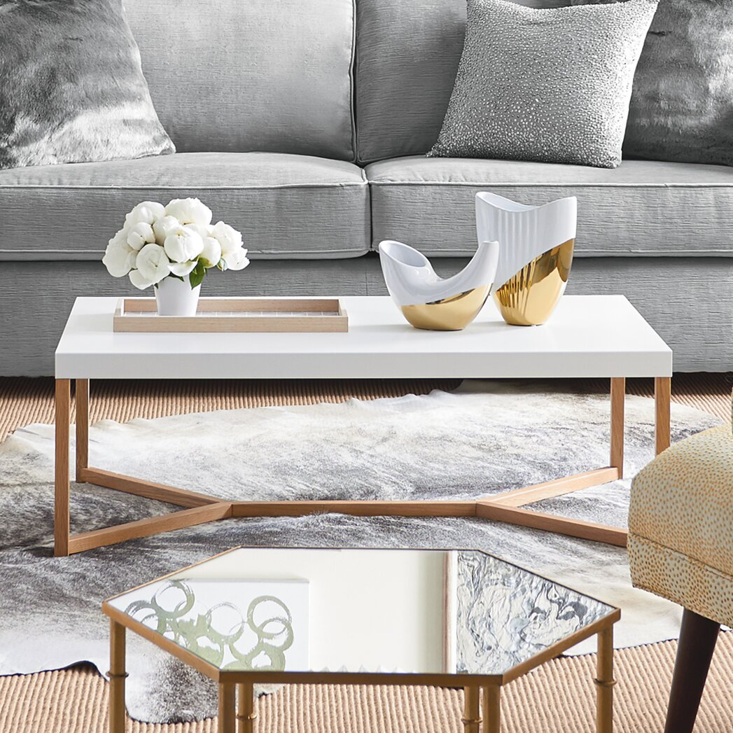 51 White Coffee Tables To Refresh Your Living Room