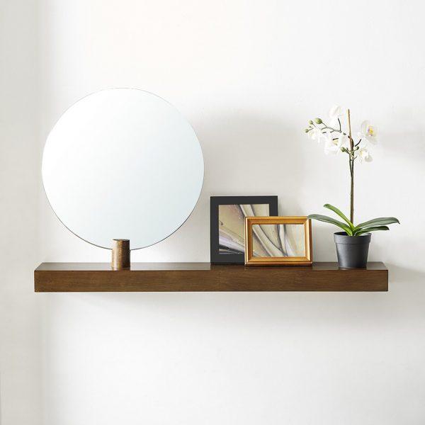 51 Floating Shelves To Reinvigorate, Round Wall Shelf Decor Ideas
