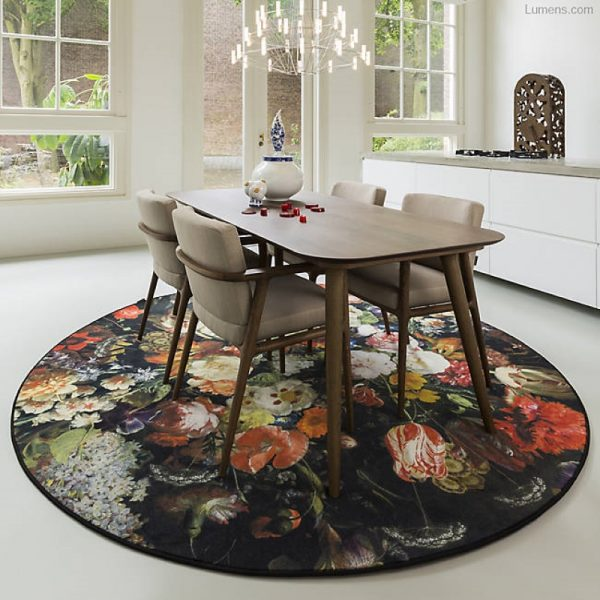 51 Round Rugs To Update Your Rooms For, Round Dining Room Rug