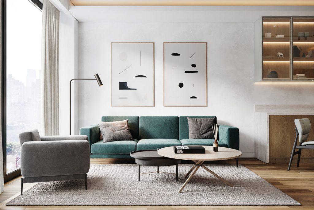 Colouring A Cohesive Home Interior