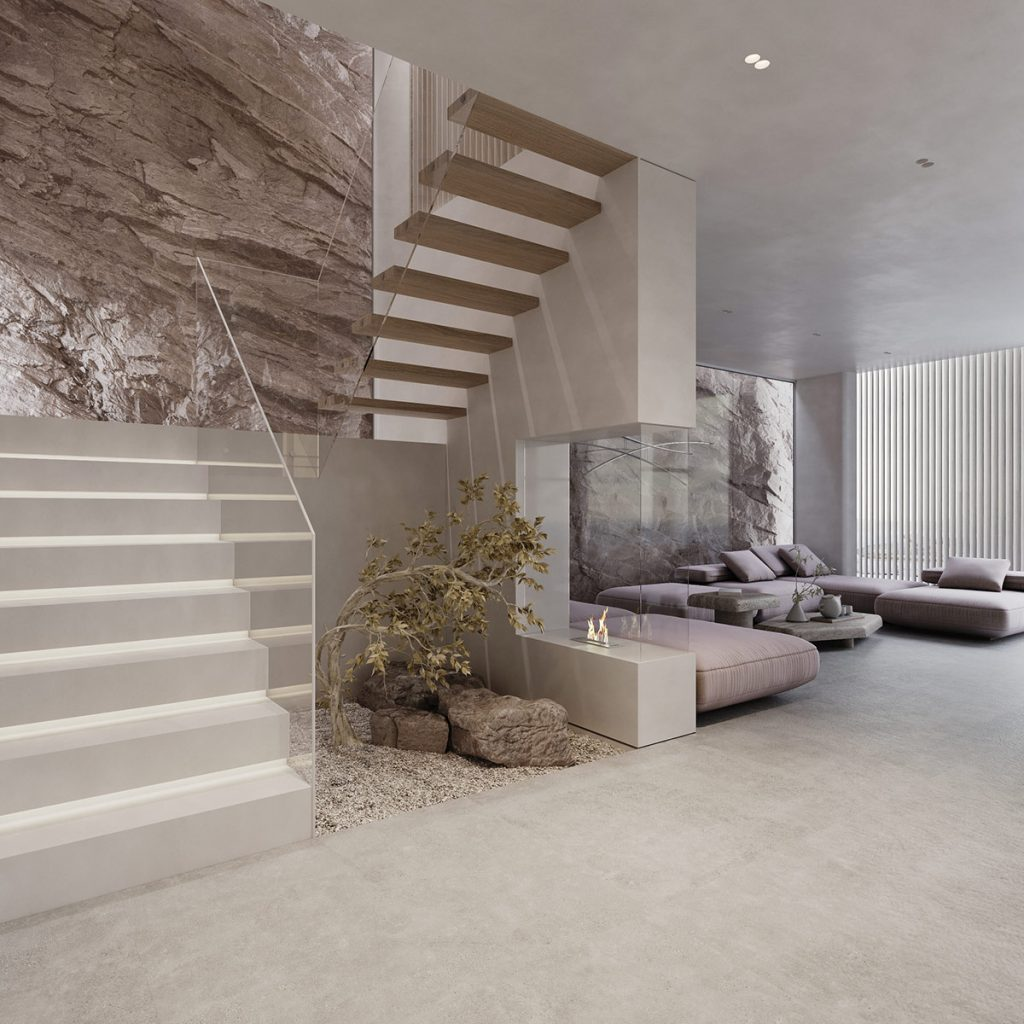 Striking Rockface Feature Walls & Luxury Stone Decor Accents