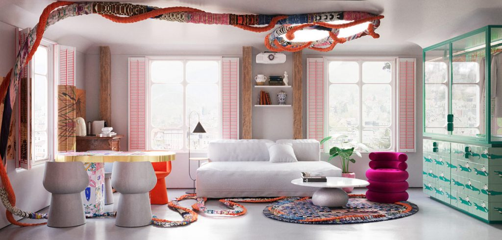 Going Cuckoo For Colourful Interiors & Outlandish Decor