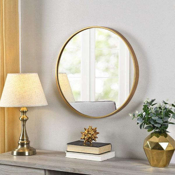 51 Round Mirrors To Reflect Your Face, How To Hang 3 Small Round Mirrors