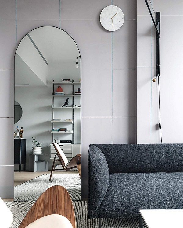 51 Full Length Mirrors To Flatter Your, Living Room Mirrors