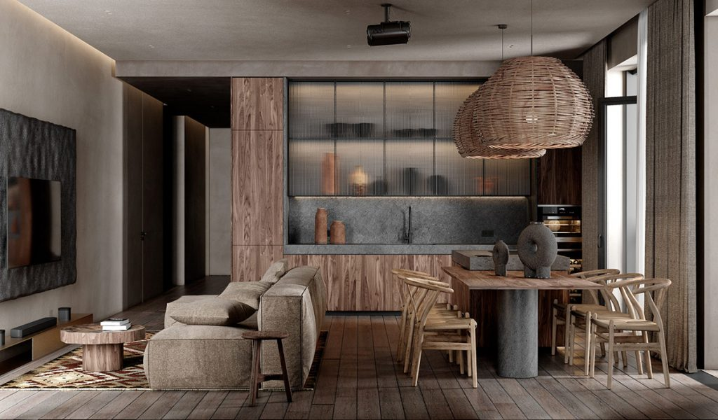 Intense Boho Industrial Interiors