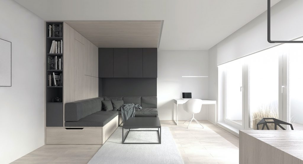 Game Changing Space Saving Ideas In Small Studios Under 30 Sqm