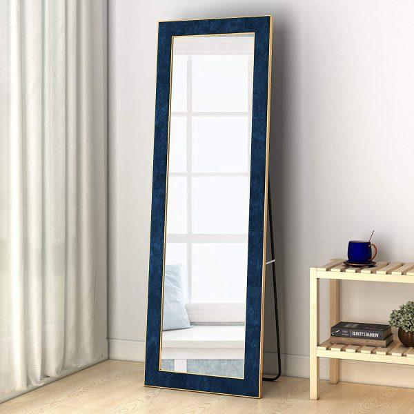 51 Full Length Mirrors To Flatter Your, Full Length Mirror Black Trim