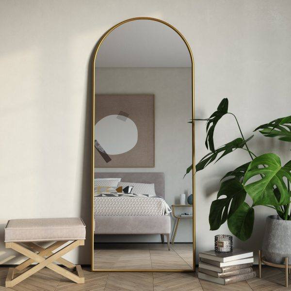 51 Full Length Mirrors To Flatter Your, Full Length Mirror Oval Top