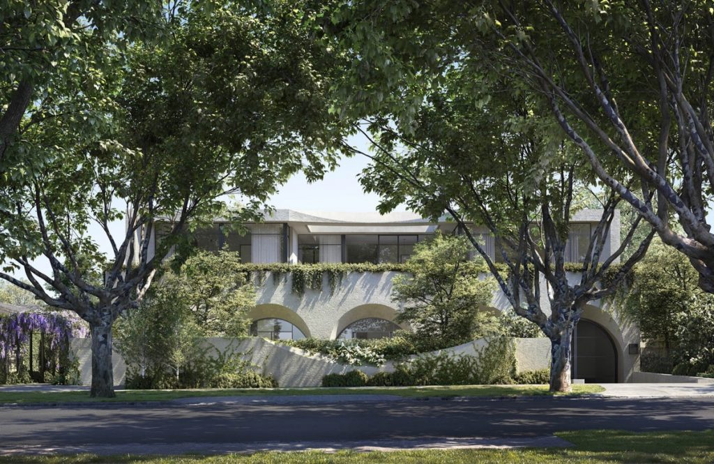 An Arched Beauty Of A Home In Australia