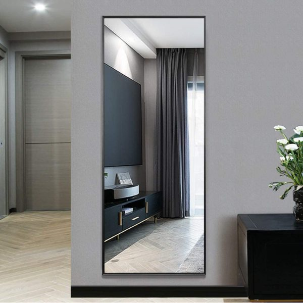 51 Full Length Mirrors To Flatter Your, Black Large Free Standing Mirror
