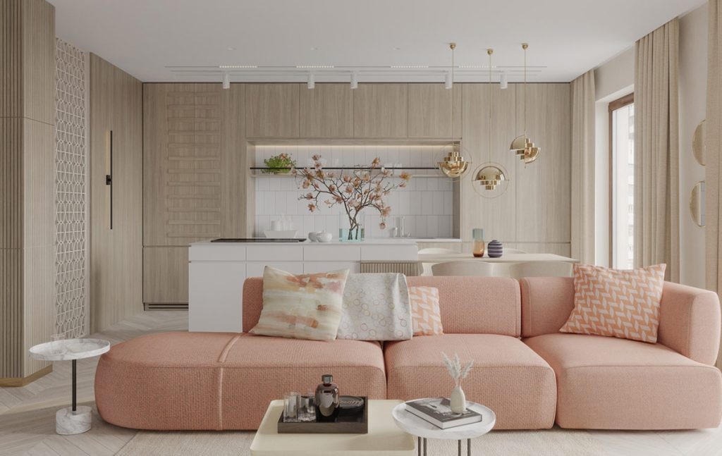 Decorating With Textured Finishes & Calming Colour