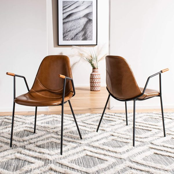 51 Upholstered Dining Chairs For A, Leather Dining Room Chairs With Casters