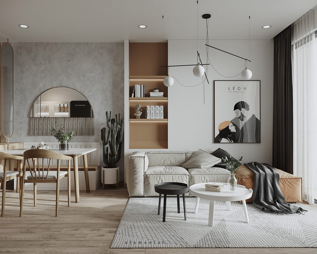 Japandi Style Home Interiors With Cute Kids' Rooms