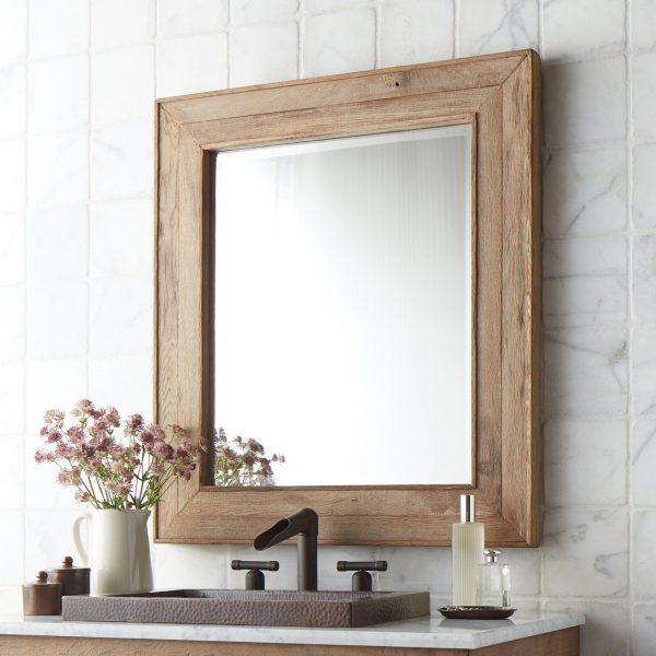 51 Bathroom Mirrors To Complete Your, Bath Mirror Frame Ideas
