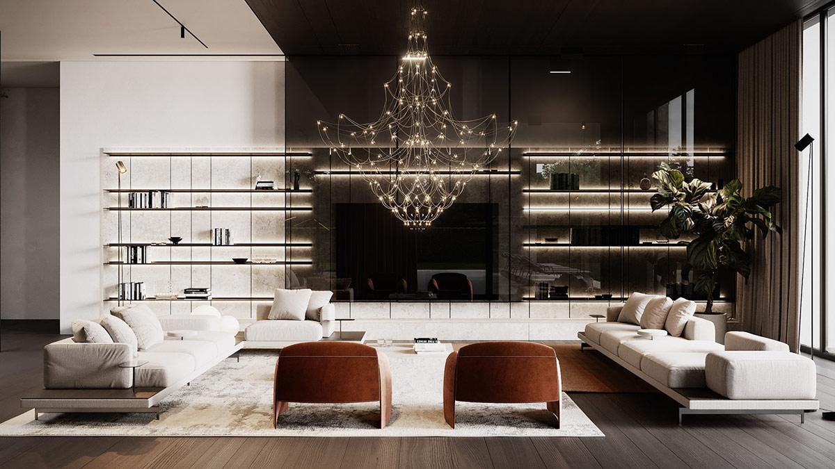 Seductive Interiors With Statement Chandeliers