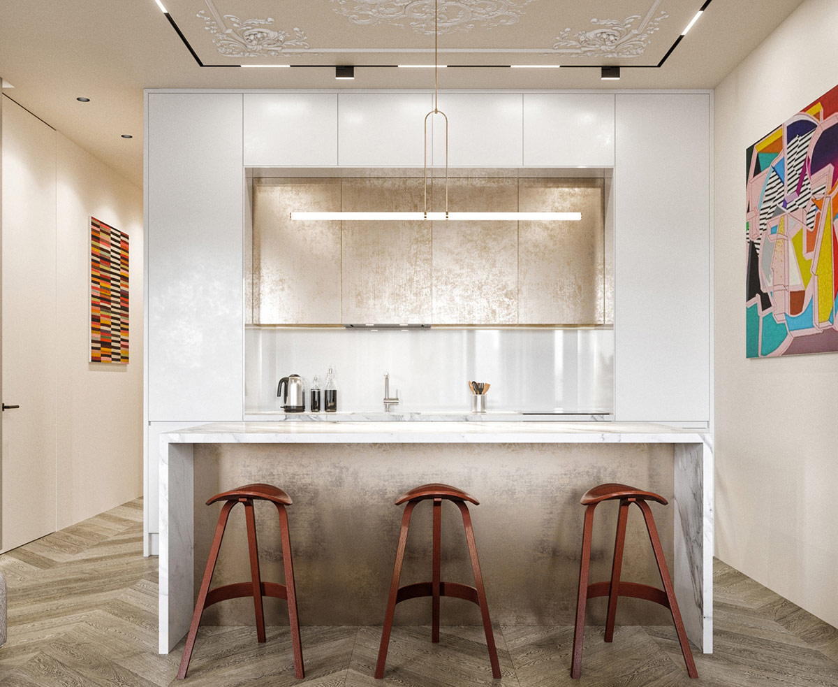 unique kitchen bar stools   Interior Design Ideas
