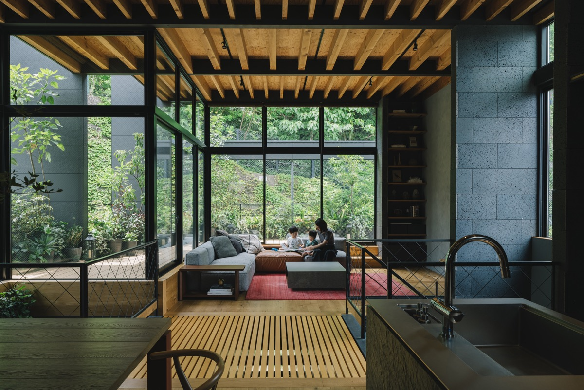 A Peaceful Japanese House Surrounded By Greenery [Video]