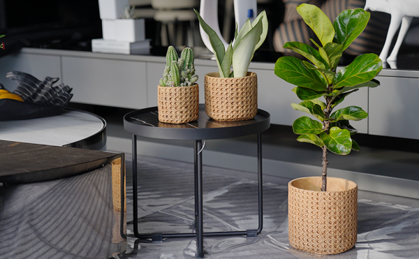Product Of The Week: Weave Pattern Ceramic Flower Pots