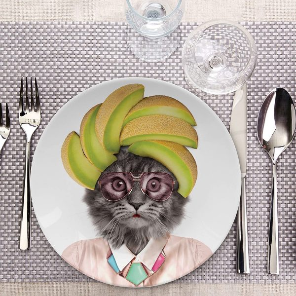 Product Of The Week: Funny Animal Ceramic Dinner Plates