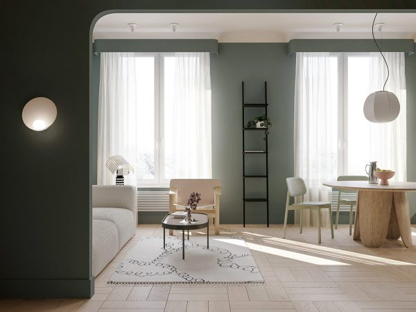 Melding Muted Colours Into Modern Decor
